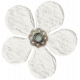 Spring Fields Flower- White