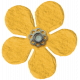 Spring Fields Flower- Yellow