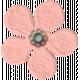 Spring Fields Flower- Light Pink