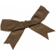 Arabia Bow- Tied Brown