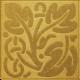 Arabia Gold Square Vines