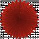 Paper Fan Flower- Red