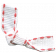 Bolivia Bow- White & Red