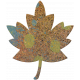 Bolivia Cork Elements- Maple Leaf Painted