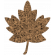 Bolivia Cork Elements- Small Maple Leaf
