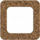 Bolivia Cork Elements- Round Edge Frame