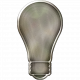 Metal Light Bulb 02