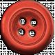 Button 33- Coral