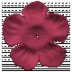 Autumn Art- Flower- Dark Pink