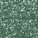 Birds in Snow Glitter - Teal
