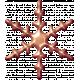 Metal Snowflake 02- Copper