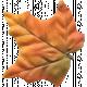 Autumn Art Leaf- Orange