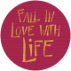 Autumn Art Tag- Fall In Love With Life