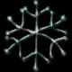 Metal Snowflake 07- Blue