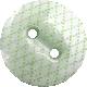 Kawaii Halloween Button- Green