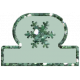 Very Tiny Transparent Tab- Snowflake 2