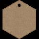 Tag Shape 03- Chipboard 6