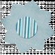 Light Blue Polka Dot Flower