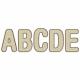 Cardboard Metal Alpha- Sans Serif