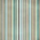 Stripes 77 Paper- Teal & Brown