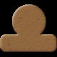 Tab 12- Brown Chipboard