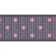 Ribbon 08- Polka Dots- Purple & Pink