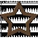 Brown Chipboard Star