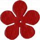 Flower 09- Red