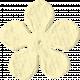Paper Flower 09- Cream