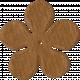 Paper Flower 09- Brown