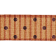 Polka Dot Ribbon- Brown