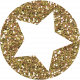 Superlatives Glitter Star 07