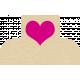Mini Heart Tab