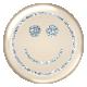 Emoticon Glitter Brad- Blue