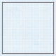 Square Grid Tag- Blue & Gray