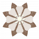 Brown Paper Flower 2