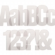 Sans Serif Clear Vellum Alpha