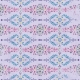 Damask 06 Paper - Purple, Blue & Pink