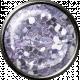 Metal Glitter Brad- Lilac