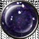 Metal Glitter Brad- Purple