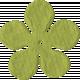 Paper Flower 09- Lime Green