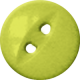 Button 24- Lime Green