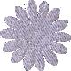 Paper Flower 01- Lilac Glitter