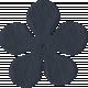 Paper Flower 09- Navy