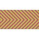 Fat Ribbon - Chevron 01 - Pink & Green