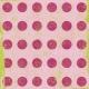 Polka Dots 50 Paper- Pink & Green
