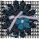 Blue Flowers Cluster