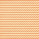 Chevron 07 Paper- Cream & Orange