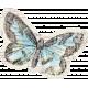 Distressed Butterfly Ephemera 02