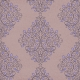 Damask 05 Paper - Purple
